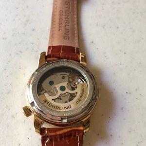 Stührling Accessories - Stührling Automatic Skeletonized Watch